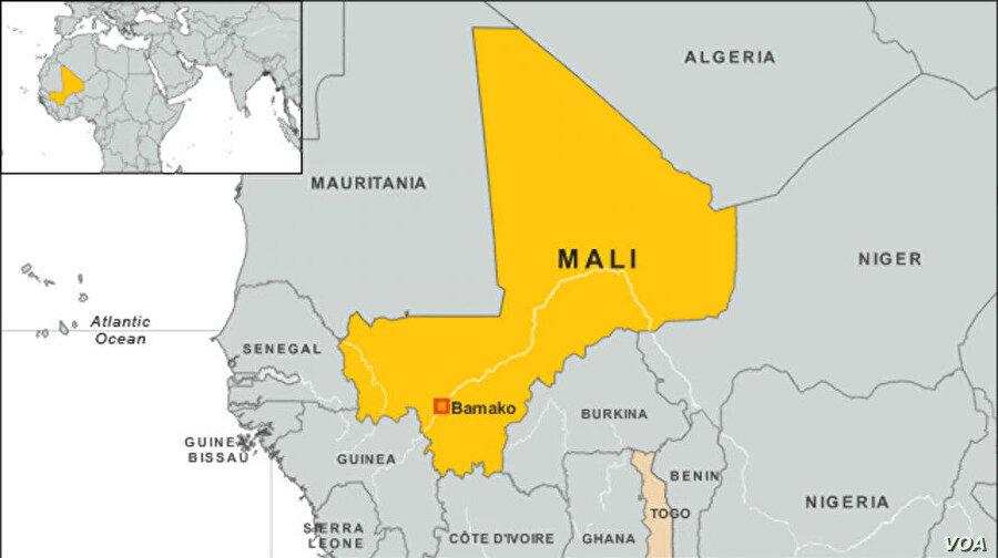 1.240.000 km² yüzölçümüne sahip Mali yıllarca Fransa tarafından sömürüldü.