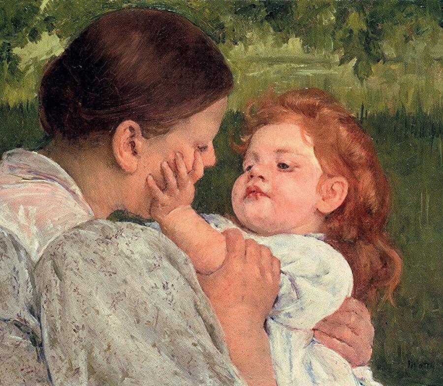 Maternal Caress, 1896 Philadelphia Museum of Art