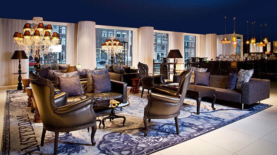 5 yıldızlı butik otel Andaz Amsterdam Prinsengracht.