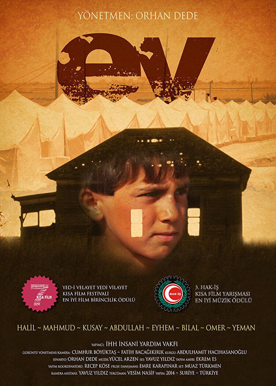 İHH prodüksiyon birimi tarafından yapılan Ev adlı kısa film, Suriye'de süren iç savaşın çocukların üzerinde bıraktığı etkiyi anlatıyor.