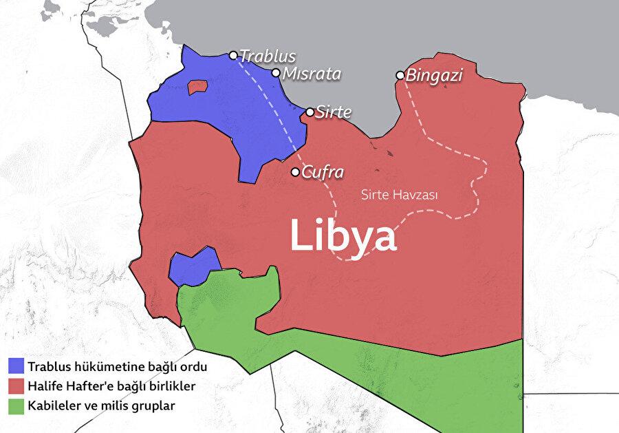 Sirte ve Cufra'nın silahtan arındırılması talimatların arasında.