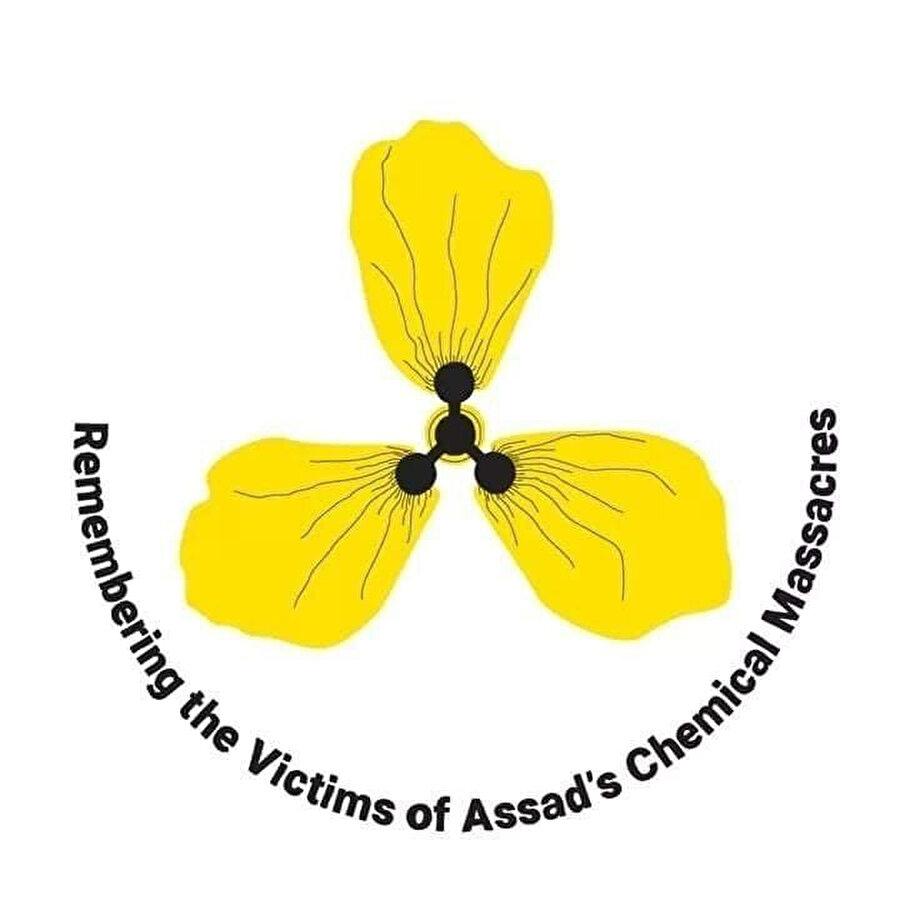 Doğu Guta katliamının sembolü sarı gül.