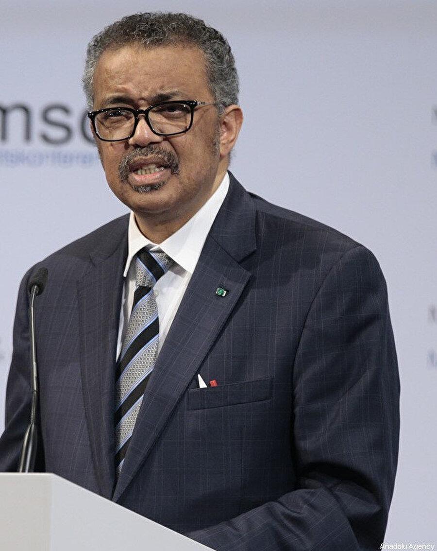 DSÖ Genel Direktörü Dr. Tedros Adhanom Ghebreyesus