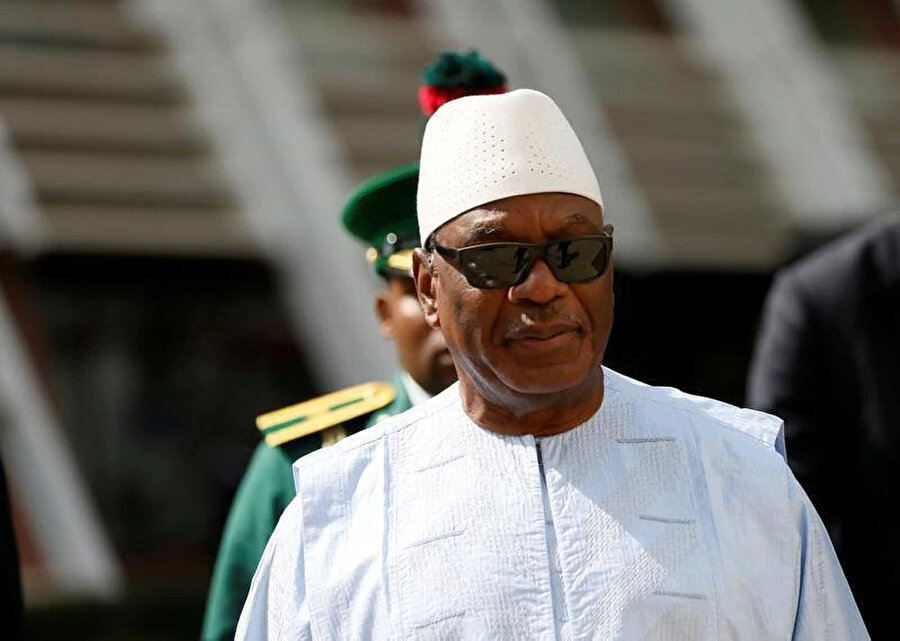 Mali Cumhurbaşkanı İbrahim Boubacar Keita