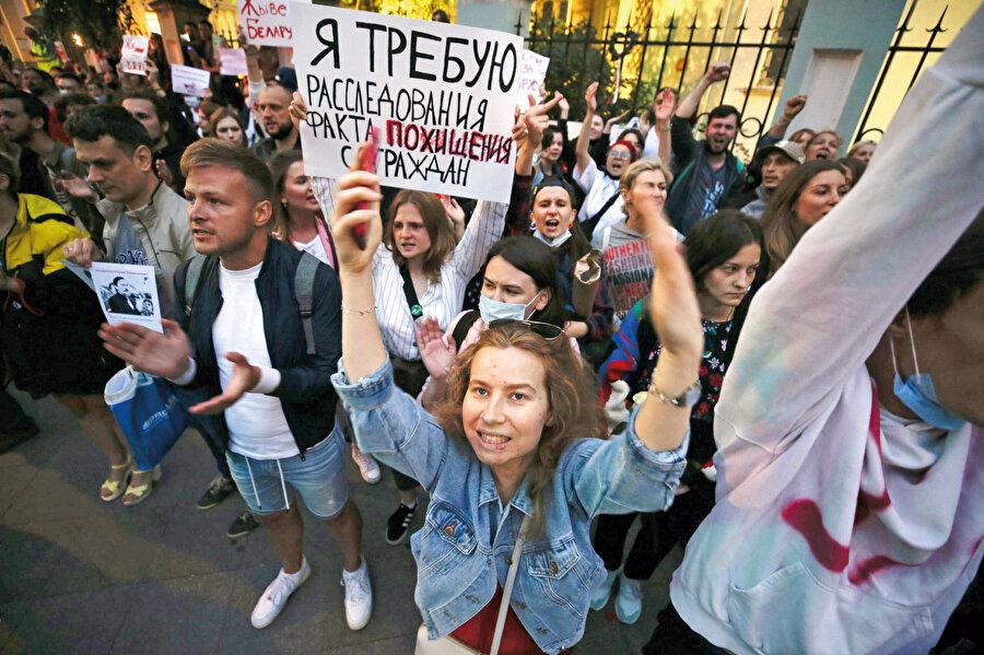 Belarus'ta seçim sonuçları