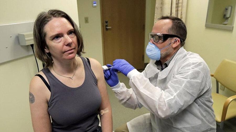 Koronavirüs aşısını ilk deneyen kişiydi