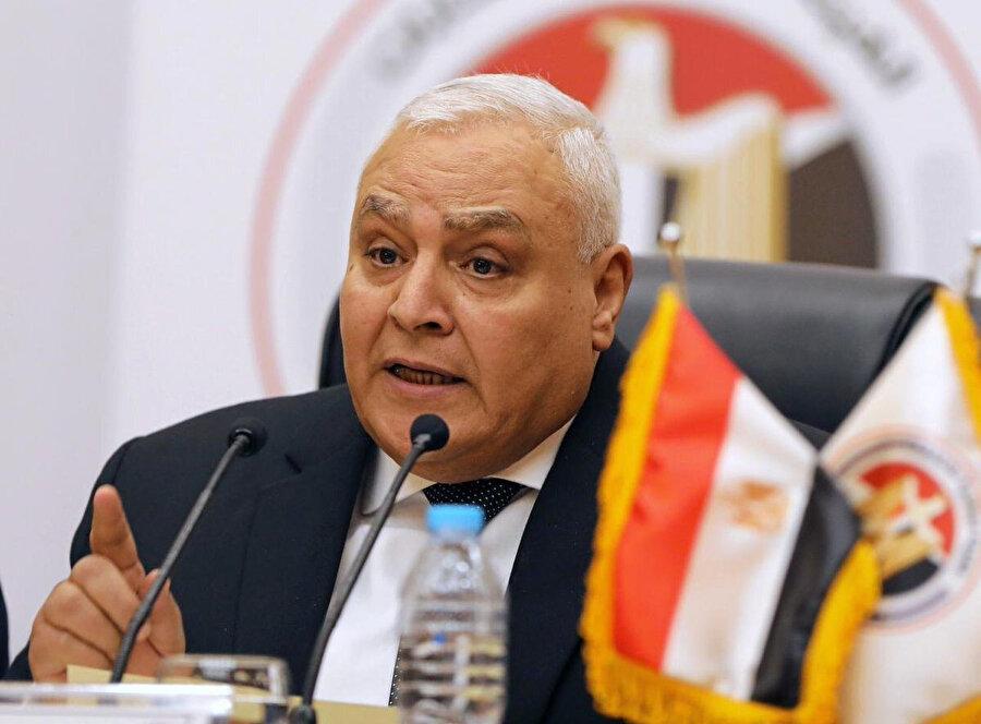 Ulusal Seçim Kurulu Başkanı Laşin İbrahim.