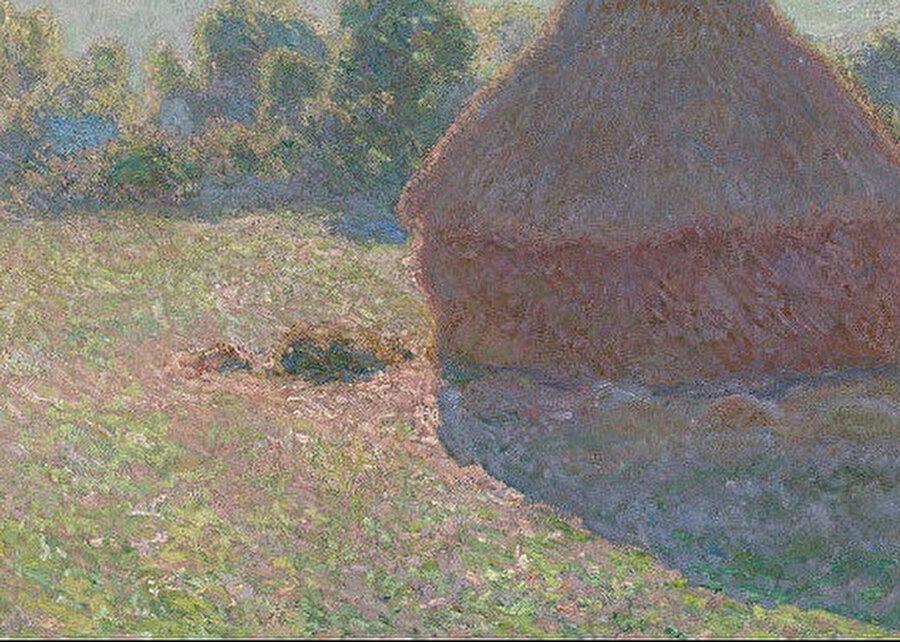 Claude Monet, Saman yığınları, 1890