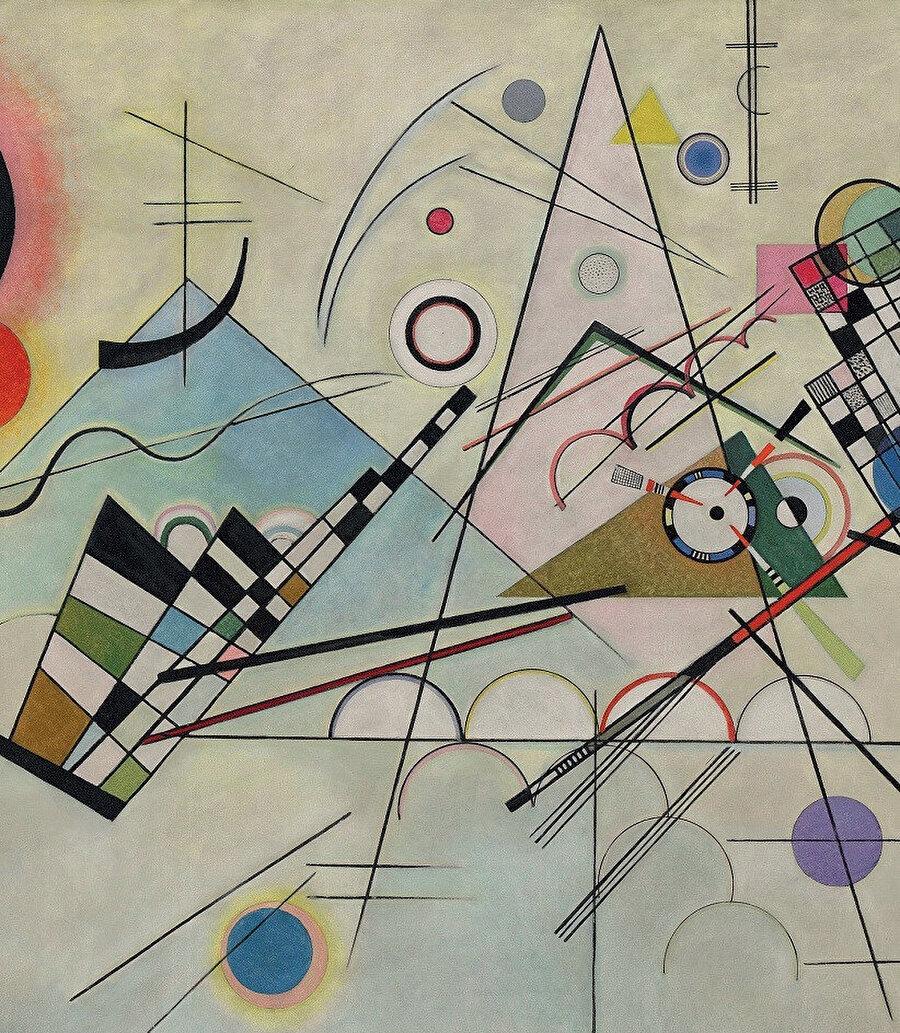 Composition VIII (Kompozisyon VIII), 1923