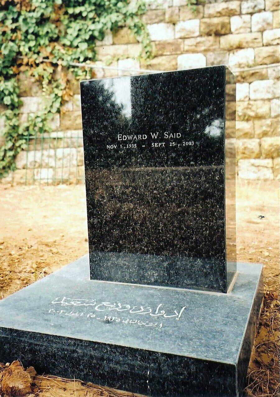 Edward Said'in, Beyrut yakınlarındaki mezarı.