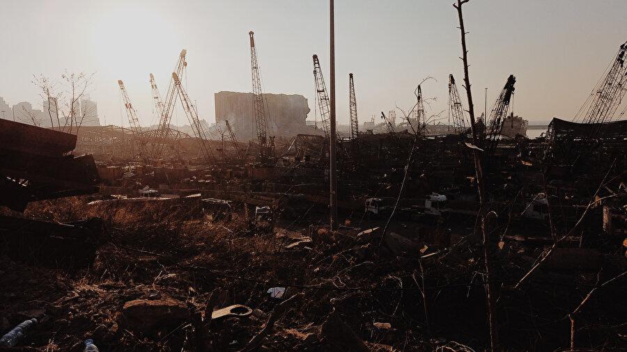 Patlama, sadece 5-10 kilometrekarelik alanda yıkıma neden oldu.