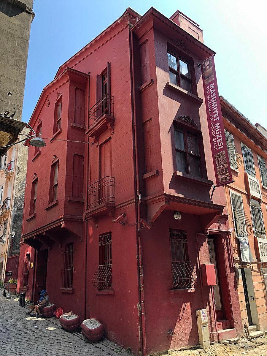 Masumiyet Müzesi binası, Beyoğlu, İstanbul.