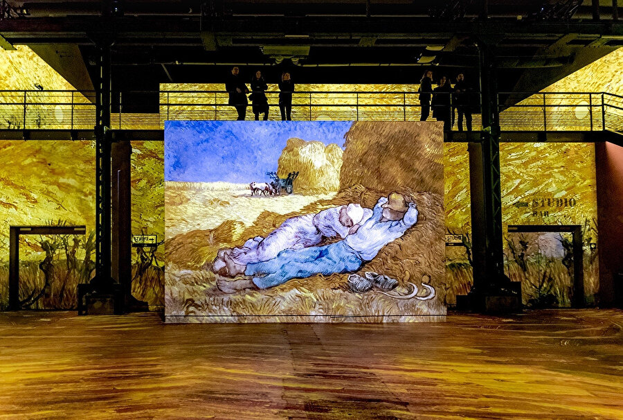 Van Gogh, The Siesta eseri.
