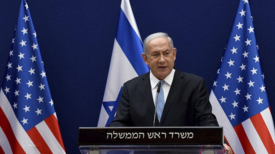 Netanyahu, Filistin ve diğer Arap ülkeleriyle barış yapılamaması nedeniyle Filistin yönetimini suçladı.