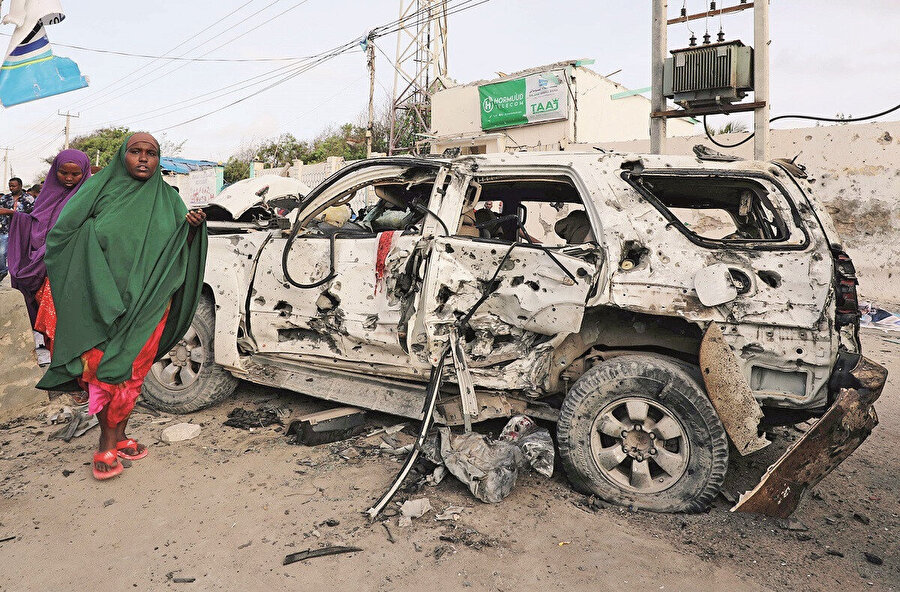 Somali 8 yılda 20 kez Şebab'ın hedefi oldu ve 300'den fazla can kaybına uğradı.