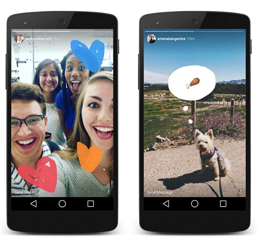Böylece sizi Instagram'dan takip eden kişiler Facebook'tan da hikâyelerinizi izleyebiliyor.