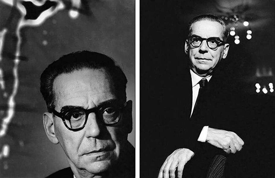 Jean-Paul Sartre, Paris, Fransa, 1962.