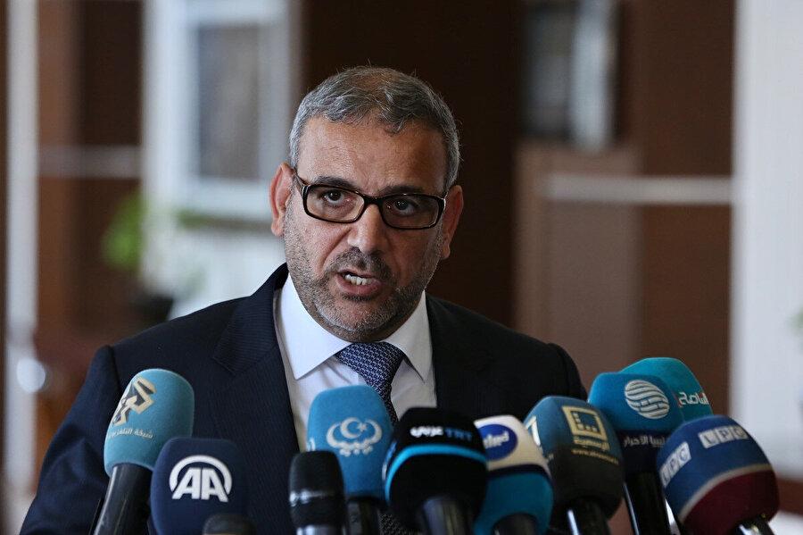 Libya Devlet Yüksek Konseyi Başkanı Halid el-Mişri.