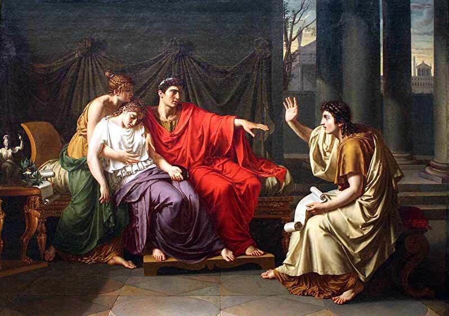 Publius Vergilius Maro, Aeneis'in yazarıydı. Fatihlerin kılıçlarıyla kurdukları Roma devletini, kelimeleriyle ölümsüzleştiren şair.
