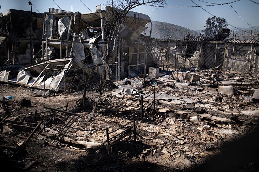 Almanya, yangın sonrası AB'ye 'sığınmacıları alma' çağrısı yaptı
