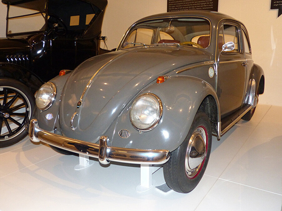 1961 model Beetle 1200 Luxus, Viyana Teknik Müzesi.
