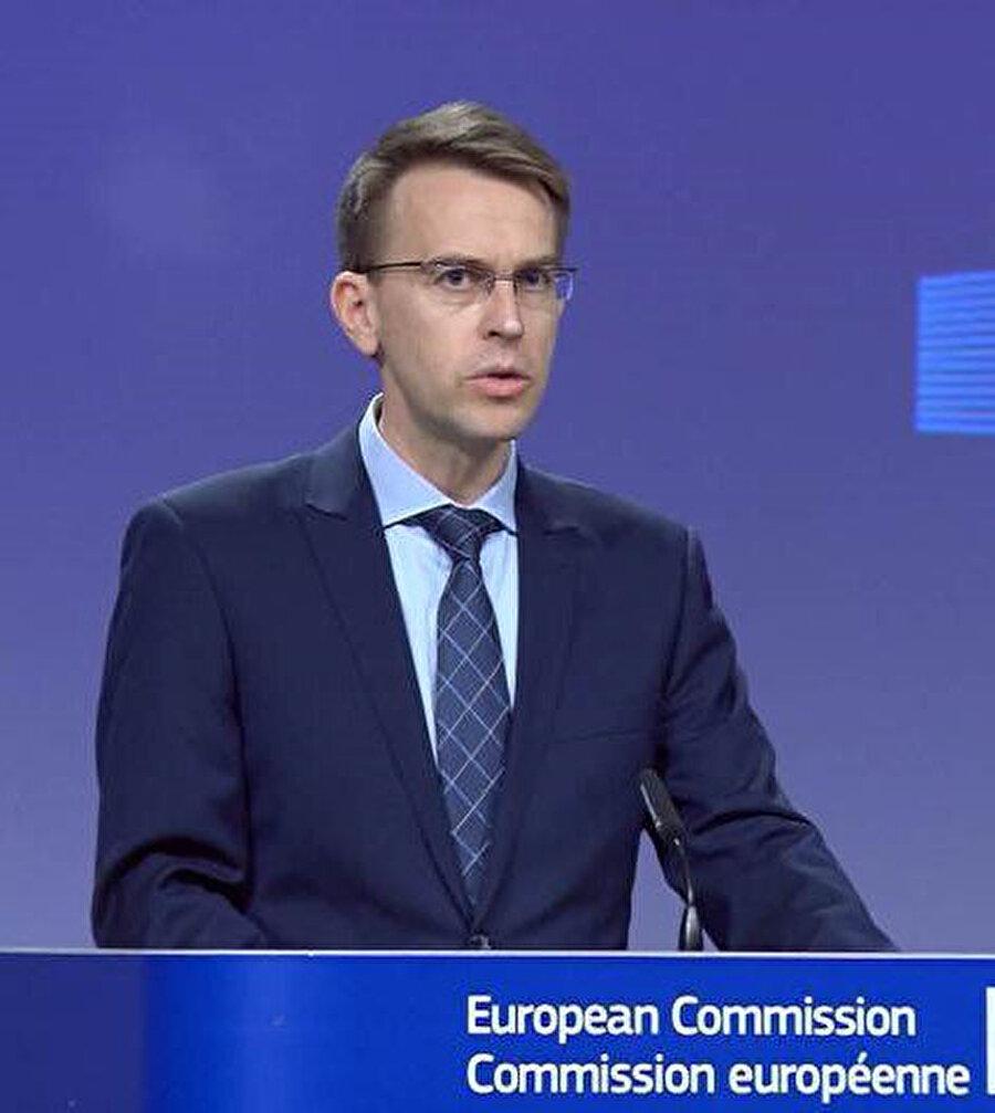 AB Komisyonu Sözcüsü Peter Stano