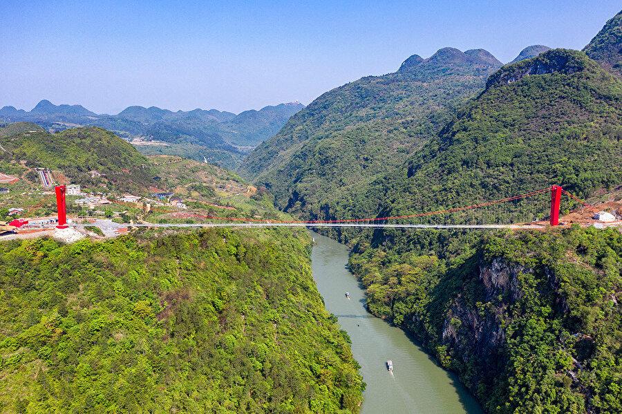 Köprü tam olarak 526,14 metre uzunluğunda.