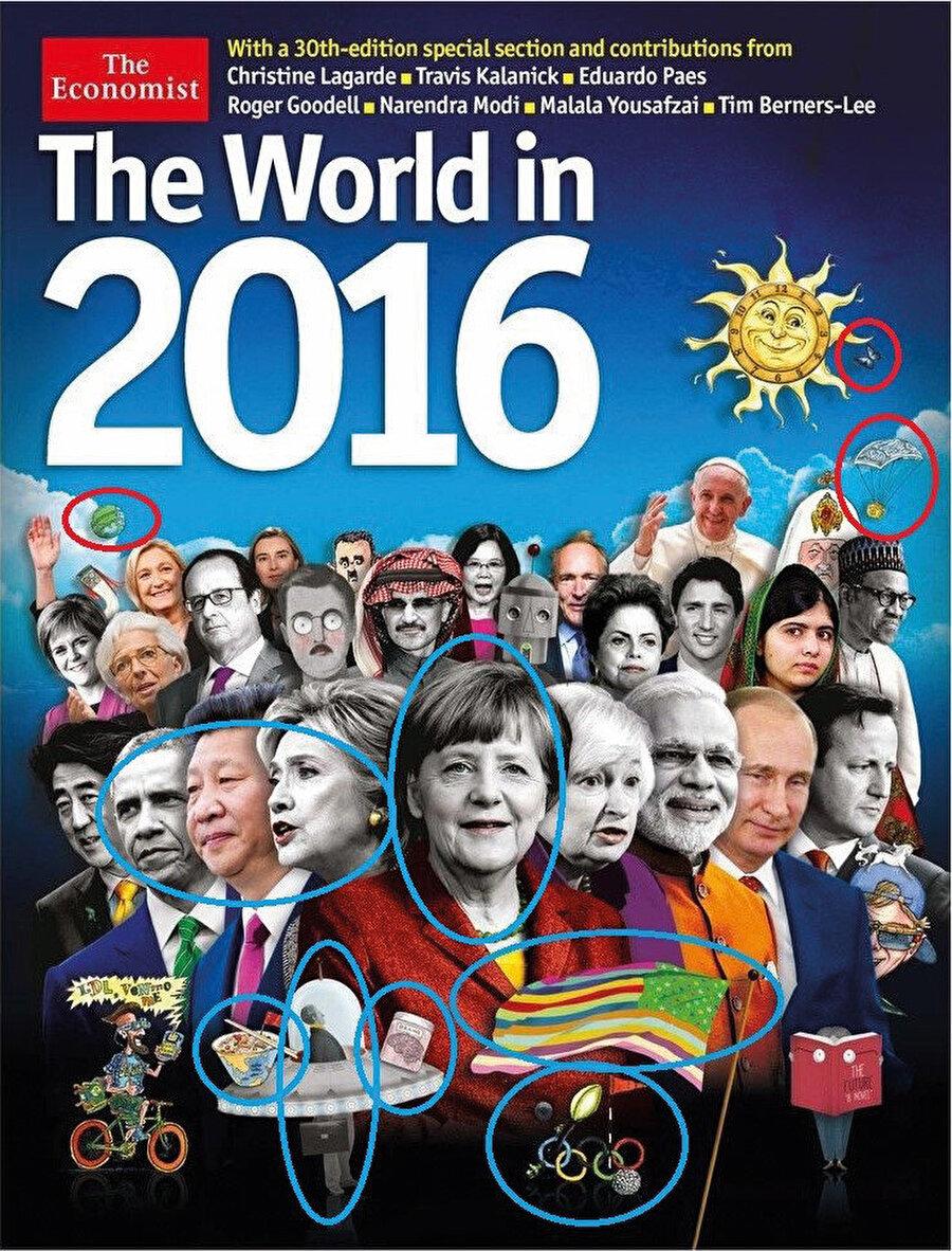 """""""The Economist"""" dergisinin """"2016"""" yılı kapağında özellikle işaretlediğimiz kısımları sizin yorumlarınıza bırakıyorum."""