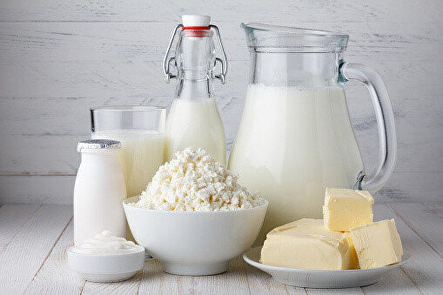 Tansiyonu tetikleyen gıdalar: Süt ürünleri.