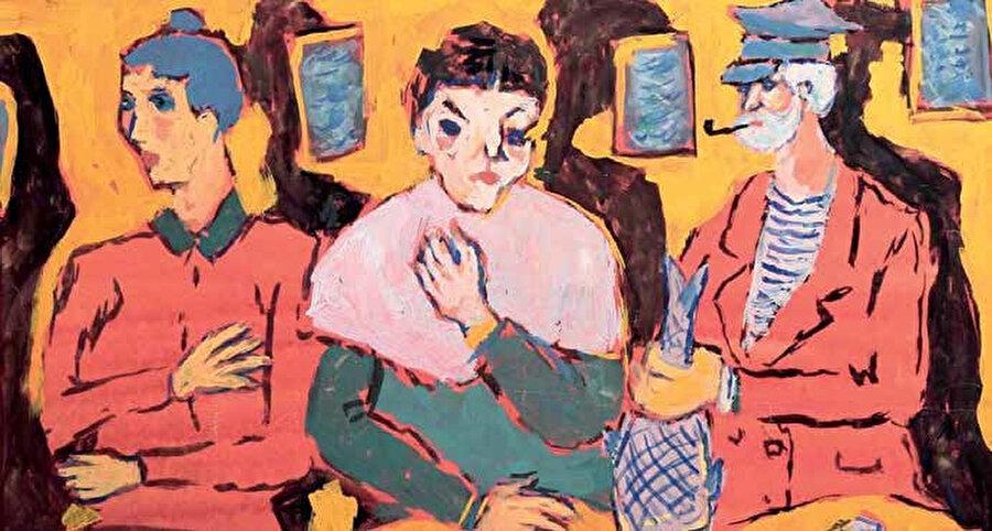 Huysuz, uzlaşmasız kişiliğini ve mutsuz yaşamını resimlerine yansıtmadı, yaşama sevinci dolu resimler yaptı