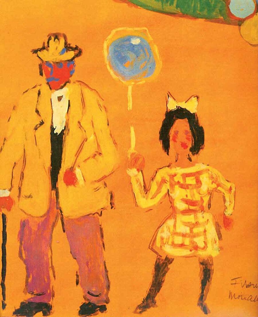 Eserlerine kendi hislerini aktardı. Coşku dolu resimler yaptı.