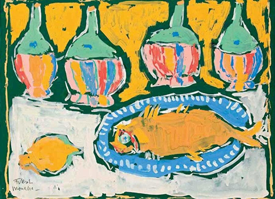Renklerle oynamayı seven sanatçının, Henri Matisse'in renk kullanımından çok etkilendiği bilinir.