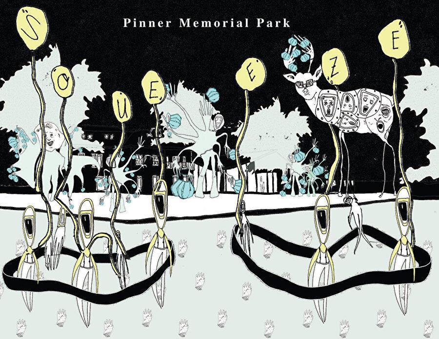 Pandemi ve Kent: Londra I, görsel 2. (Pinner Memorial Park.)