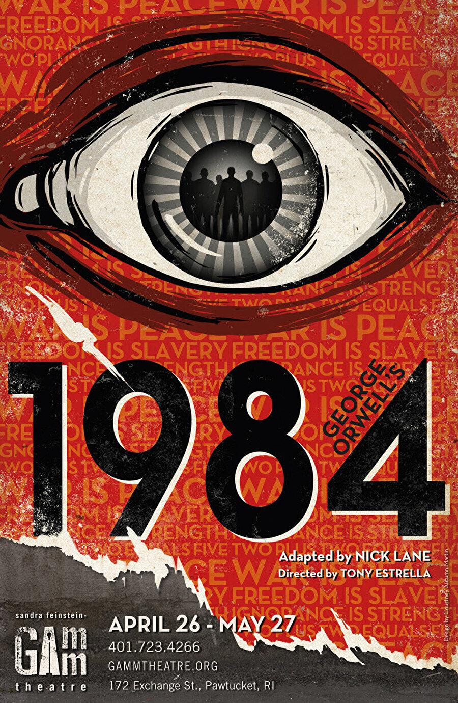 George Orwell'in meşhur eseri 1984'ün hemen hemen her baskısının kapağında görebileceğimiz, Büyük Birader'i temsil eden Tek-Göz'ü her daim bizi izliyor.