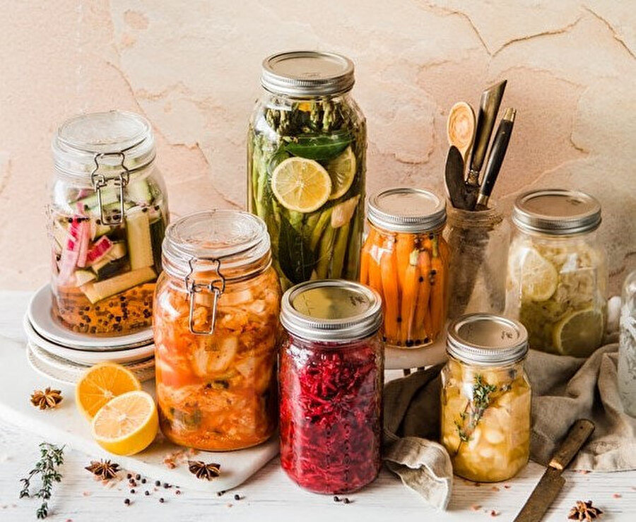 Tansiyonu tetikleyen gıdalar: Turşu.