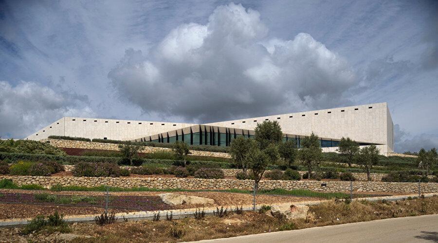 Filistin Müzesi, heneghan Peng, Birzeit, Filistin (2019).