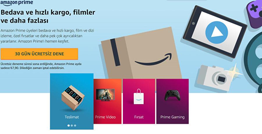 Amazon.com.tr üzerinden 30 günlük ücretsiz denemeyi başlatabilirsiniz.