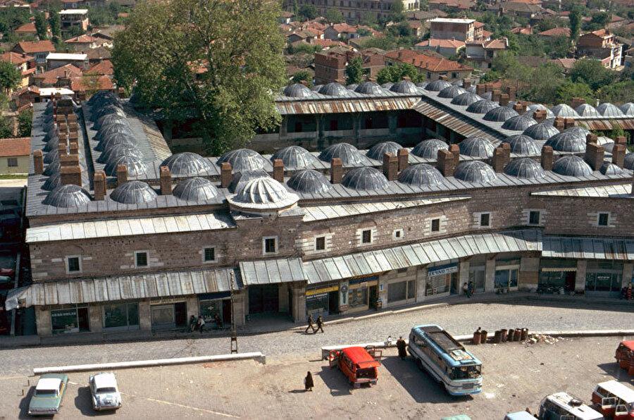 Rüstem Paşa Kervansarayı Onarımı, 1980.