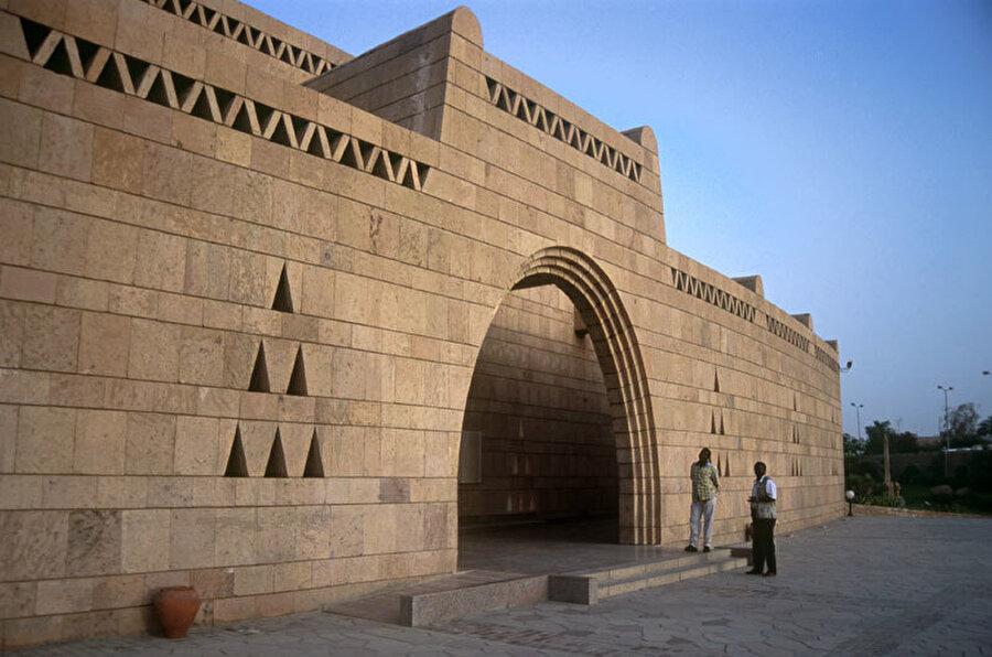 Nubian Müzesi, Asvan, Mahmoud El-Hakim, Mısır (Kuzey Afrika, 2001).
