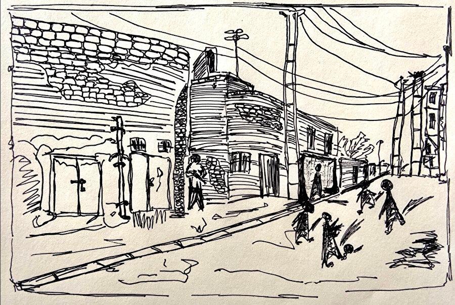 Pandemi ve Kent: Bağdat, görsel 4. (Covid'den önce sokaklar.)