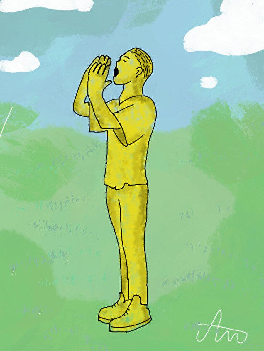 Veliki Park'ta (Büyük Park) yer alan Mensud Kečo'ya ait 'Nermine, dođi!'(Nermin, gel!) isimli heykel çalışması. Sırp askerlerin yakaladığı bir adam henüz yakalanmamış oğluna 'Nermin, gel!' diye sesleniyor. Sırplar kaçanların geri gelip teslim olması halinde onlara zarar verilmeyeceğini söylüyorlar. Daha sonra baba ve oğulun cesetleri toplu mezarlardan birinde bulunmuştur.