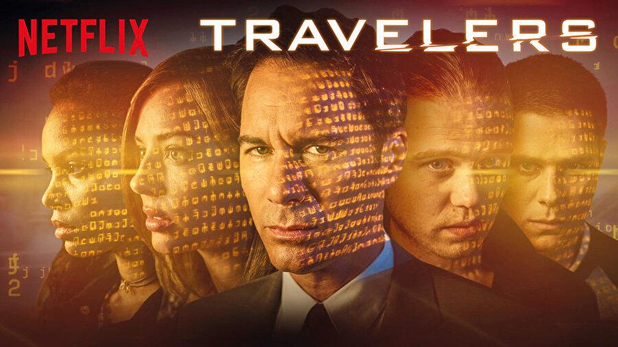 Travellers, Brad Wright tarafından Eric McCormack, Mackenzie Porter, Jared Abrahamson, Nesta Cooper, Reilly Dolman ve Patrick Gilmore'un oynadığı K anada-Amerikan bilim kurgu televizyon dizisidir.