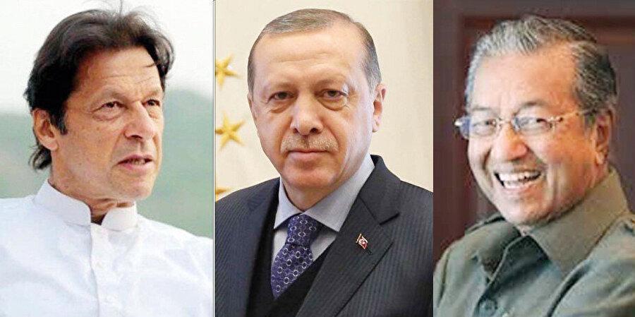 Erdoğan-İmran Han-Muhammed üçlüsü, İslamofobi'ye karşı İngilizce yayın yapacak bir televizyon kanalının kurulacağını duyurdu