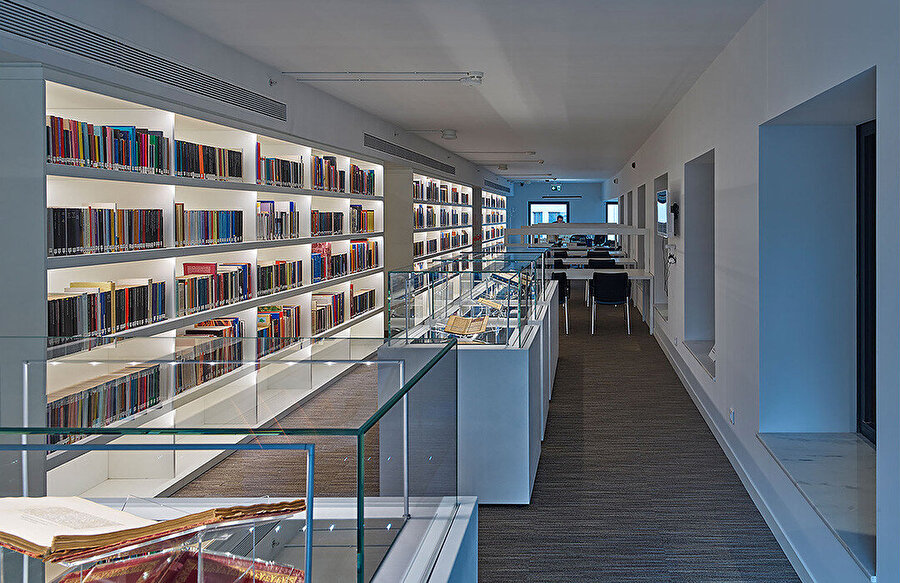 Kütüphane.