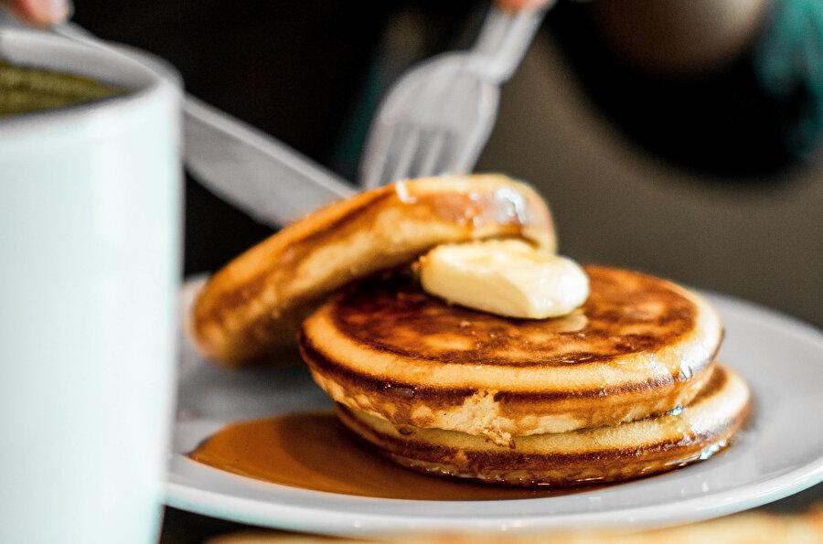 Muzlu pancake.