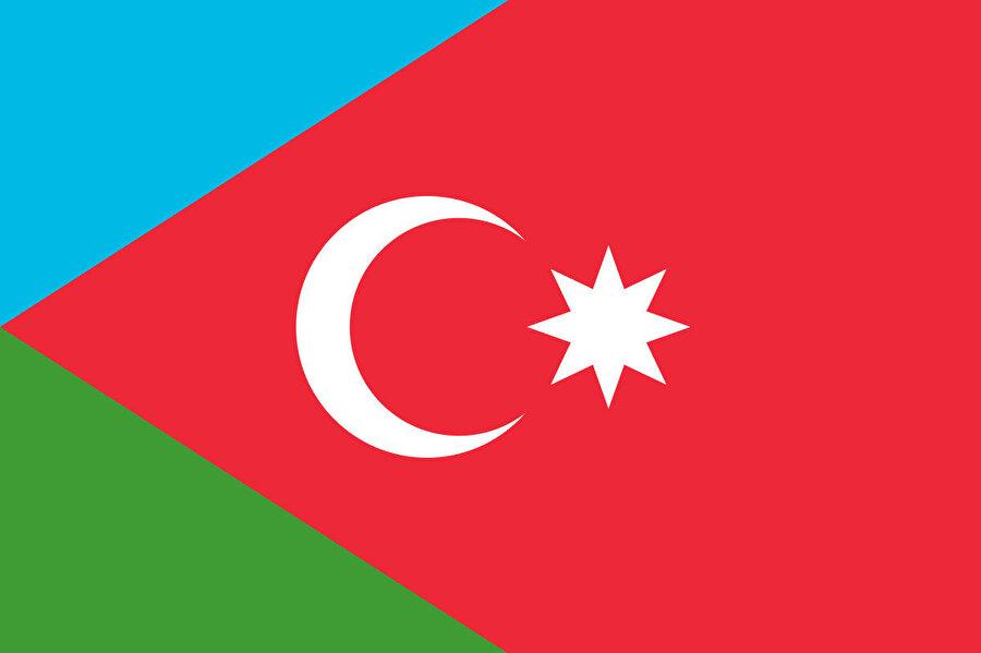 Güney Azerbaycan eyaletinin bayrağı