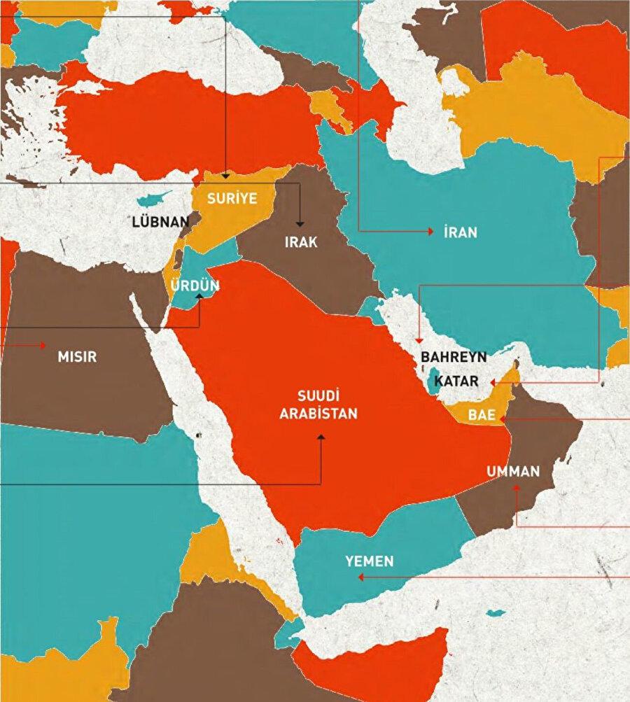 Trump'ın 'körfez ülkeleri' diye bahsetse de, kastettiği muhtemelen bölgede İsrail'e destek veren diğer ülkeler.
