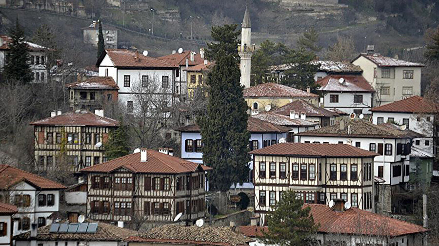 Safranbolu evleri.