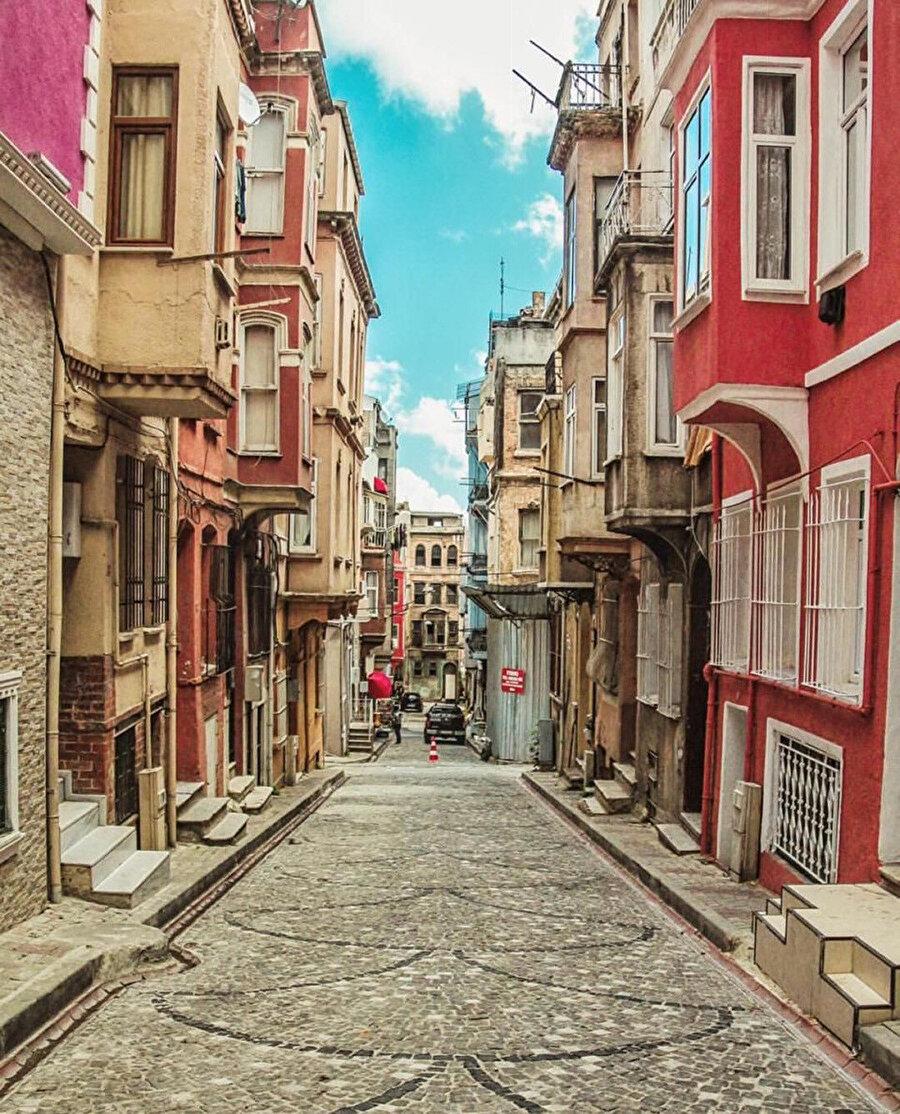 Balat sokakları.