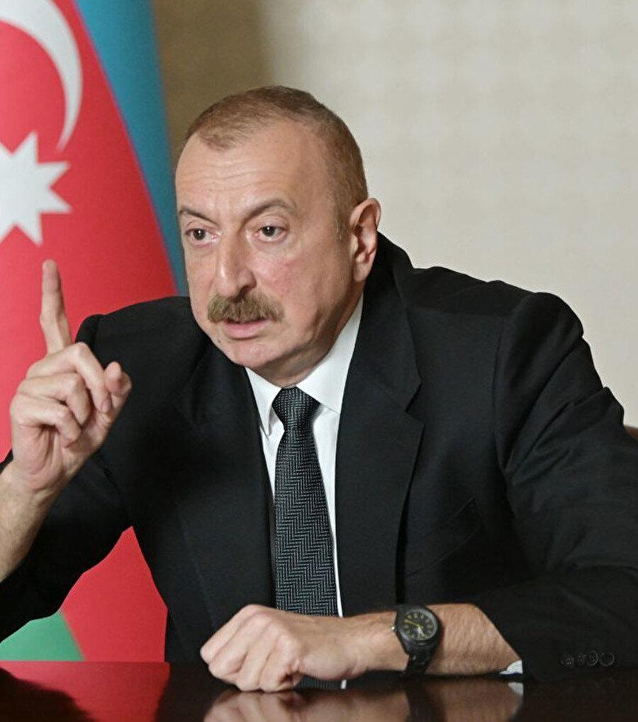 Azerbaycan Cumhurbaşkanı İlham Aliyev (Arşiv)